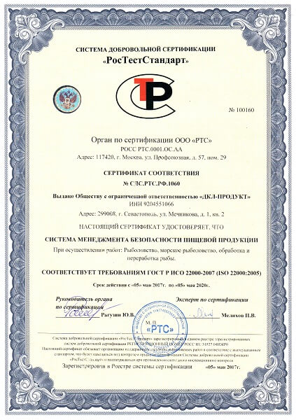 оформить сертификат ИСО 14001 в Долгопрудном